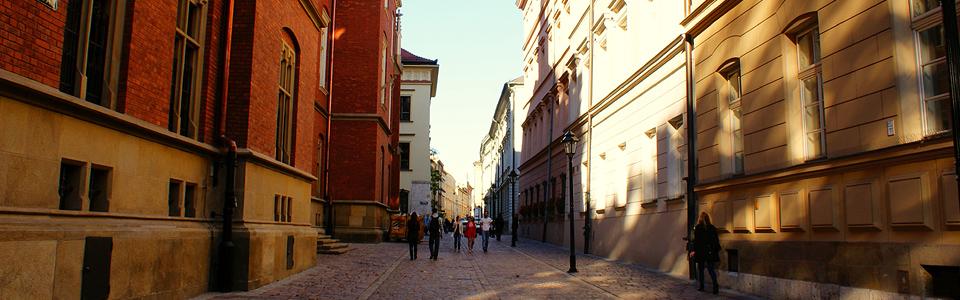 Kraków uliczka