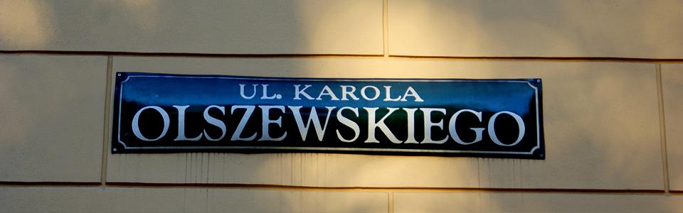 Olszewskiego tabliczka