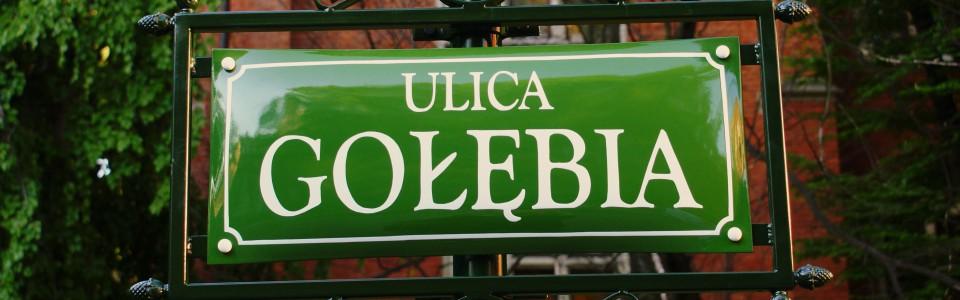 zielona tabliczka
