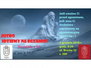"""""""Jutro idziemy na egzamin"""" – powtórka KPK"""