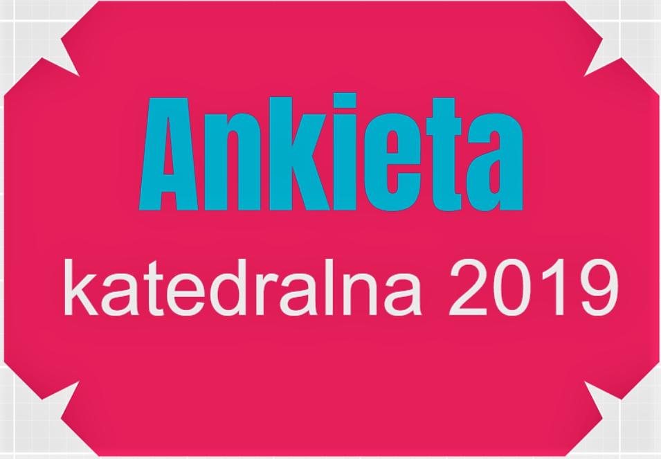 Ankieta na 2019 rok