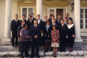 pierwsze seminarium na Uniwersytecie Jagiellońskim w Krakowie - 1993 rok
